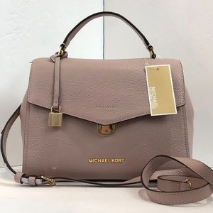 Michael kors Leather Satchel crossbody Bag $348